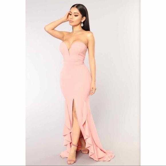 Fashion Nova Dresses & Skirts - Fashion Nova Perfect Night Mermaid Formal Dress